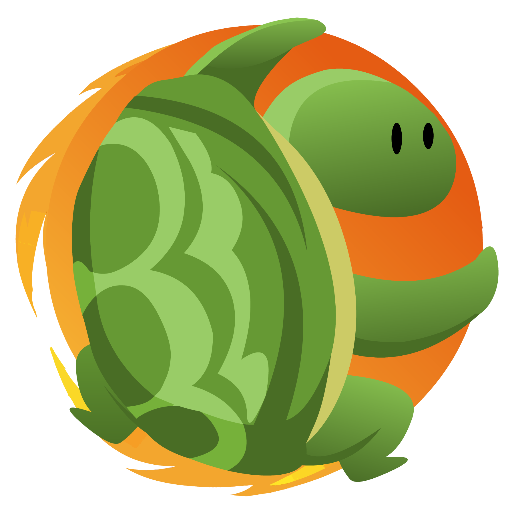 Modeling a pond ecosystem. Clipart turtle biotic