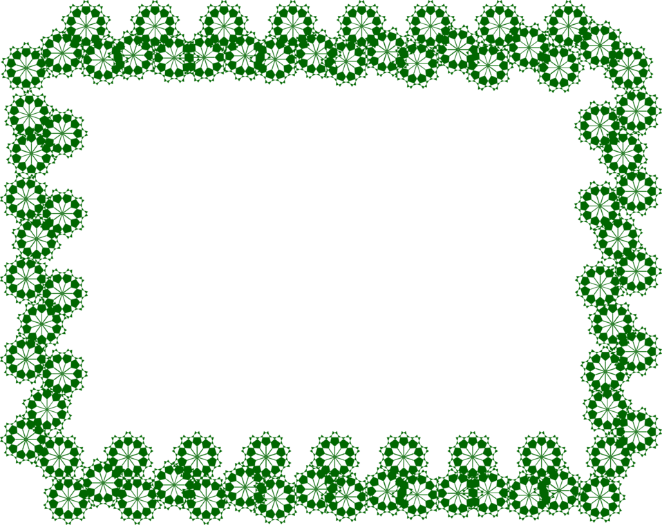 Green border png. Free stock photo illustration