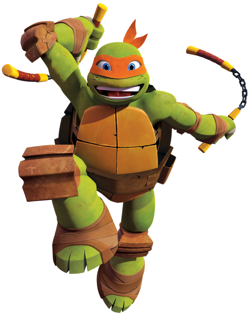 Clipart turtle face. Ninja turtles michael angelo