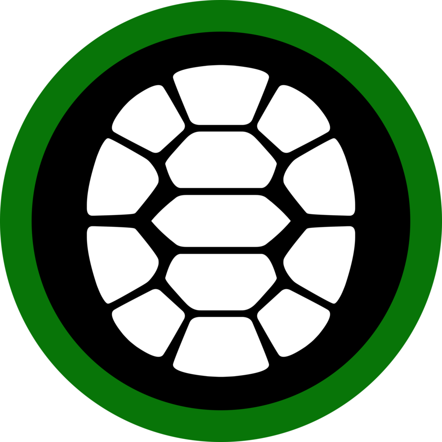 Ninja logo photo. Clipart turtle face