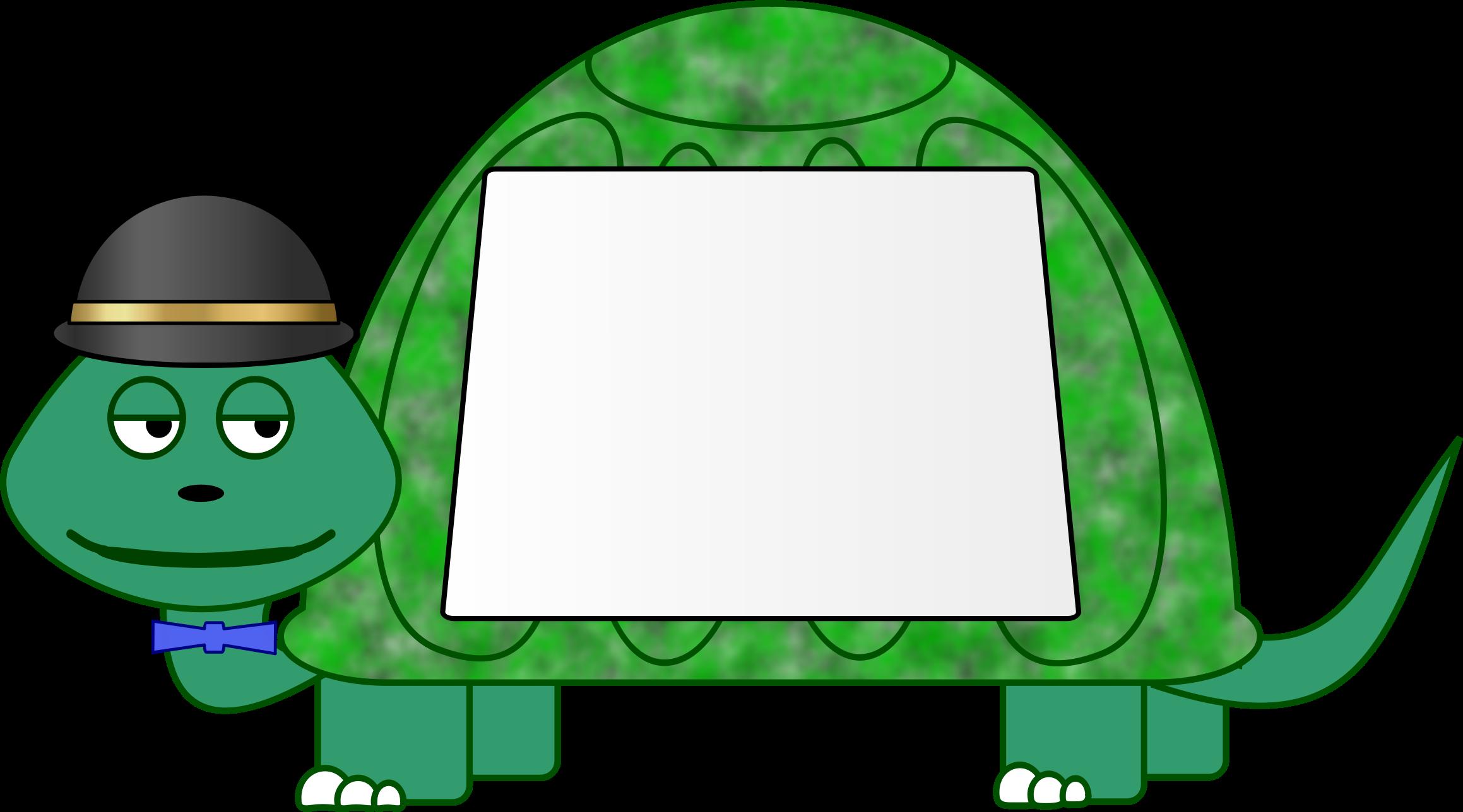 Sign big image png. Clipart turtle frame