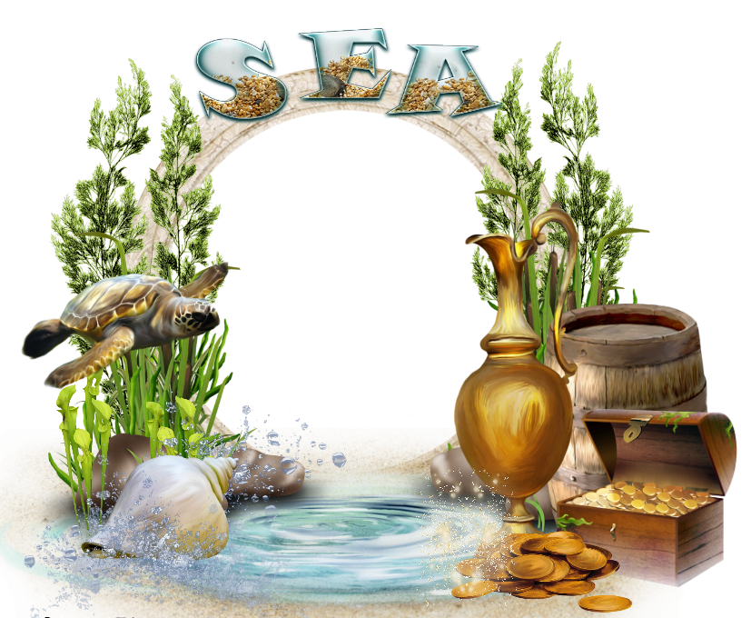 Clipart turtle frame. Sea transparent with gallery