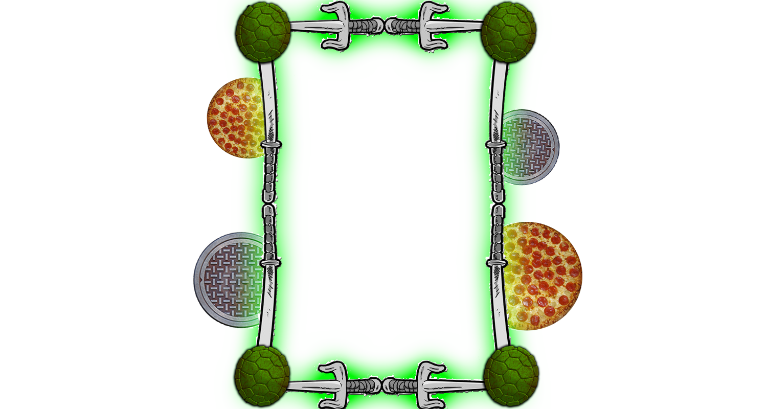 Clipart turtle frame. Tmnt by writerfairy on