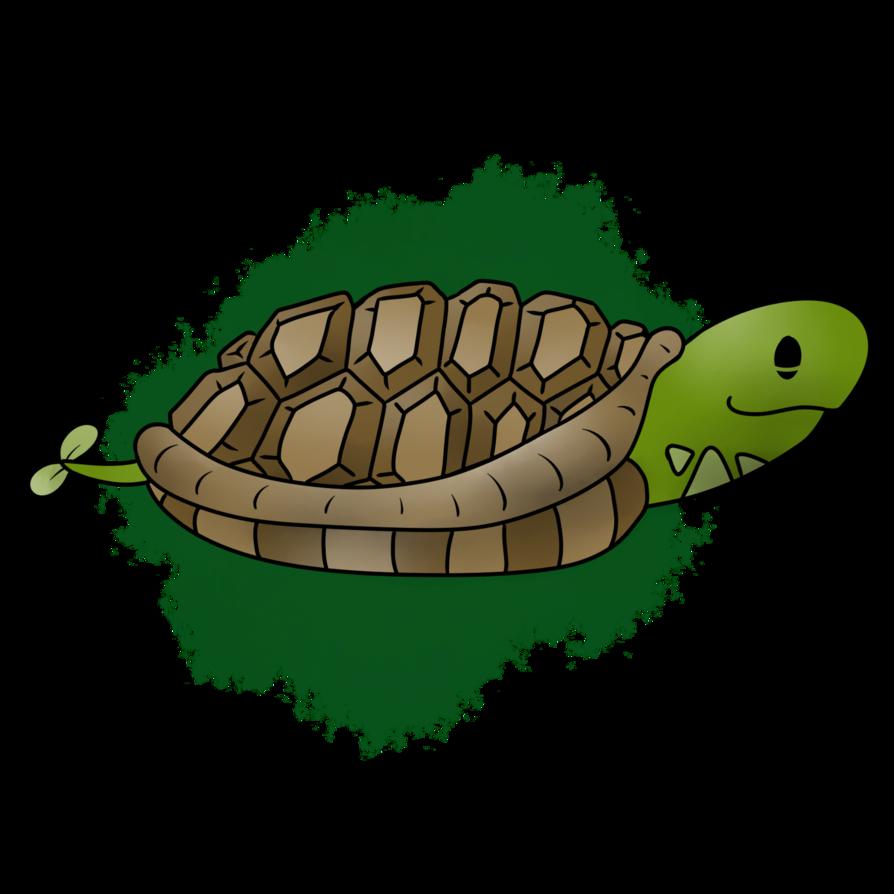 Clipart turtle land turtle. Turtone the galapagos fakemon