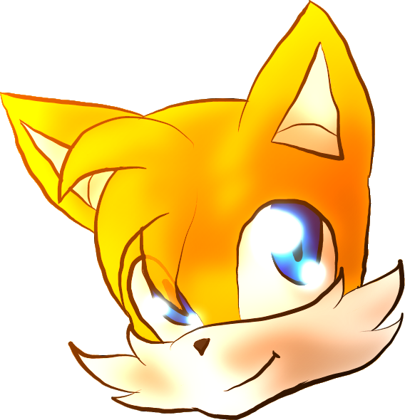 Clipart turtle shadow. Tails the fox f