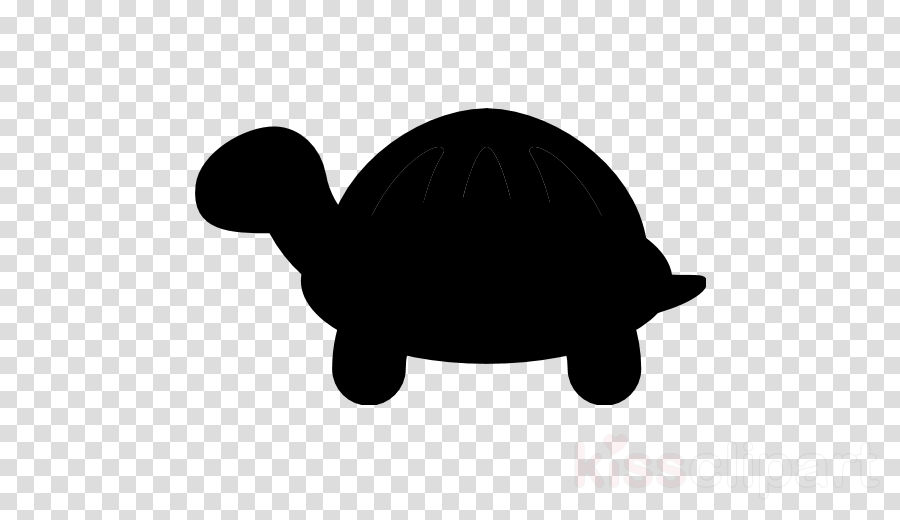 Clipart turtle silhouette. Sea background