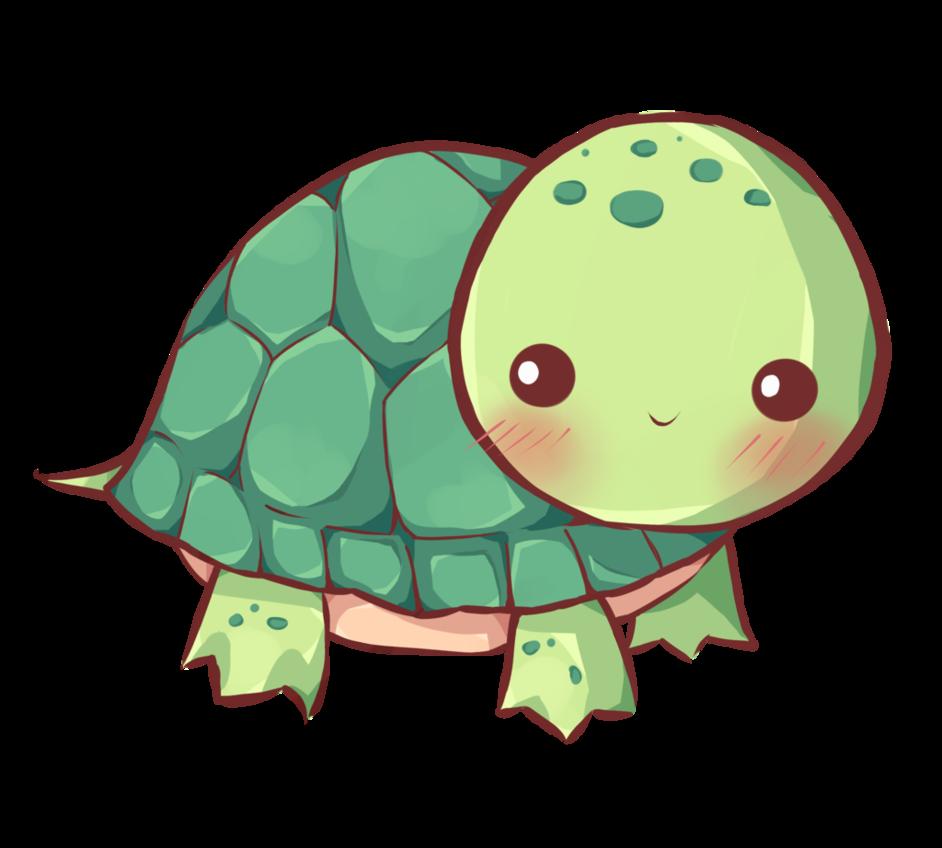 Kawaii by dessineka fauna. Clipart turtle spotted turtle