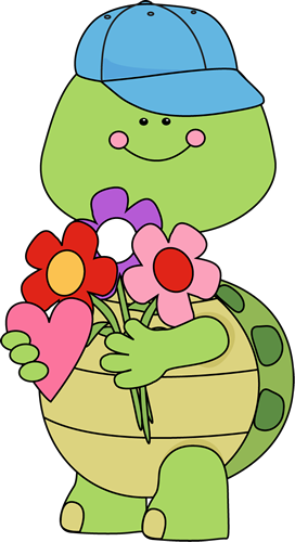 Clipart turtle valentine. Cute s day with