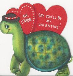 Valentines x free clip. Clipart turtle valentine