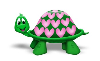 S day critters . Clipart turtle valentine