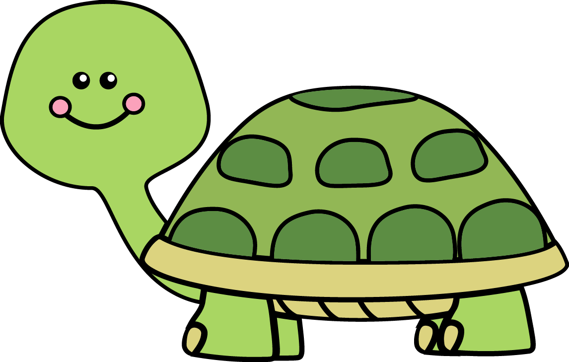 Cute myvect. Clipart turtle vector