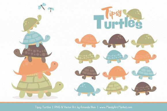 Clipart turtle vintage. Boy stack