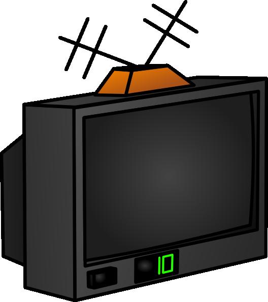Television clipart tv set. Clip art at clker