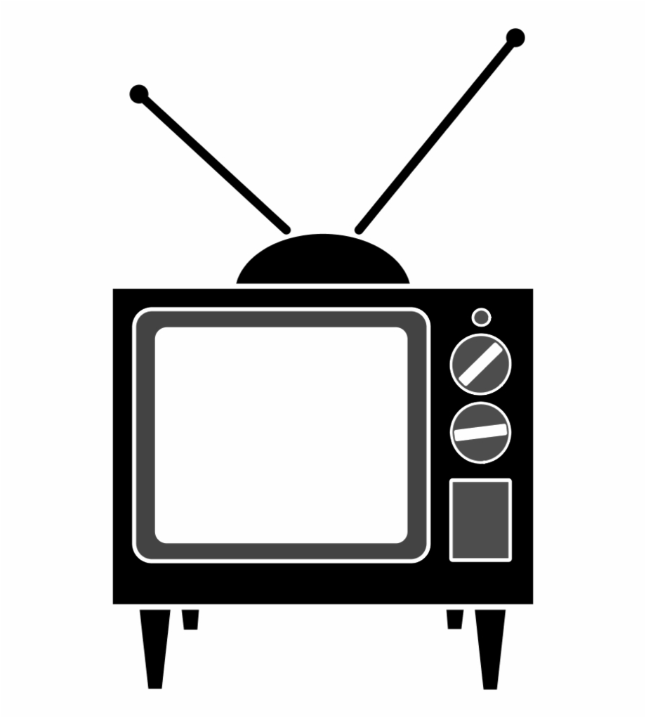 Television clipart tele. Tv cartoon free png