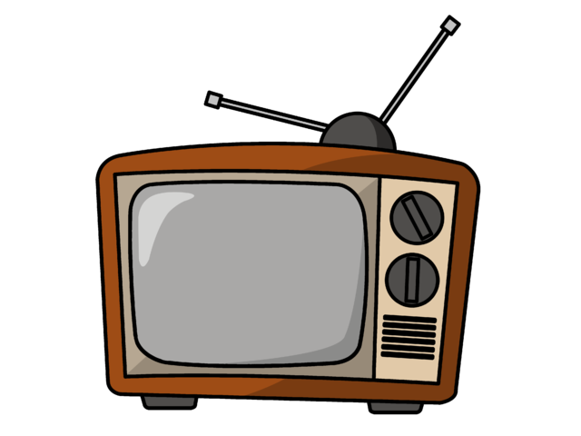 Image television png animal. Clipart tv animated