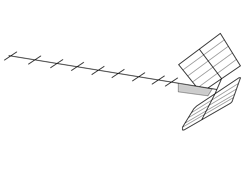 television clipart tv antenna