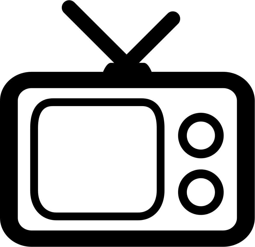 Clipart tv blank tv. Png images old free