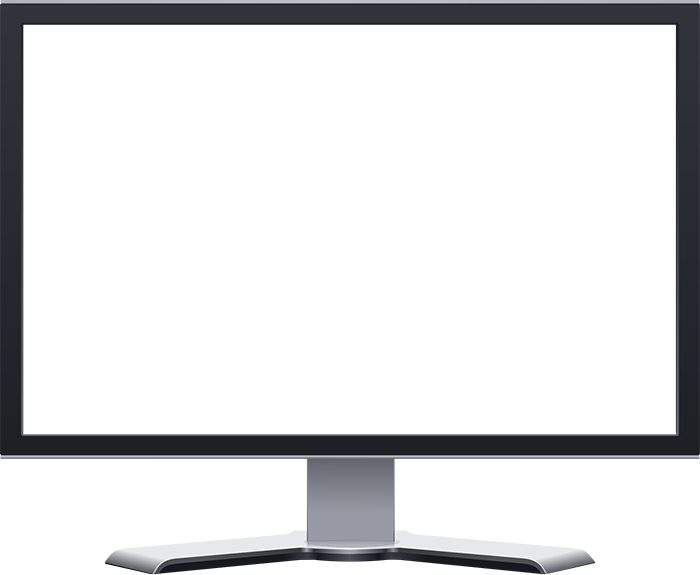 Television clipart lcd tv. Flat screen png fabulous