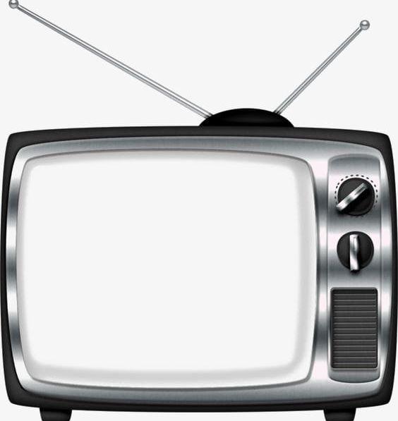 Retro deductible elements png. Clipart tv border