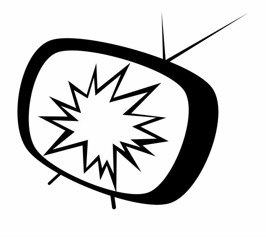 Clipart tv broken tv. This free icons png