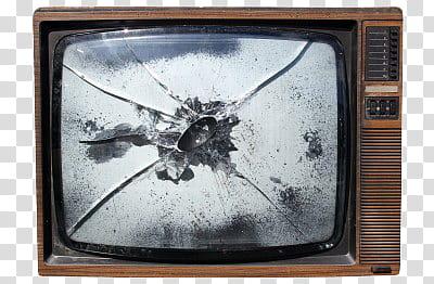 Clipart tv broken tv. Vintage television transparent background
