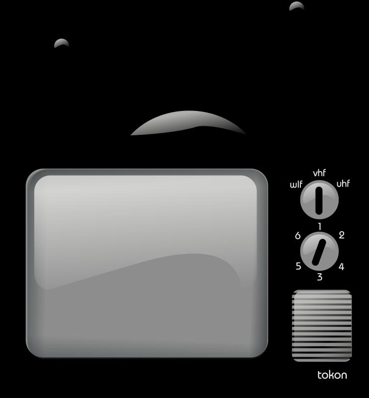 television clipart little tv