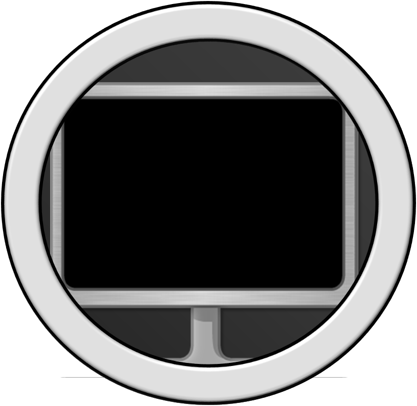 Clipart tv circle object. Bfdi a recommended characters