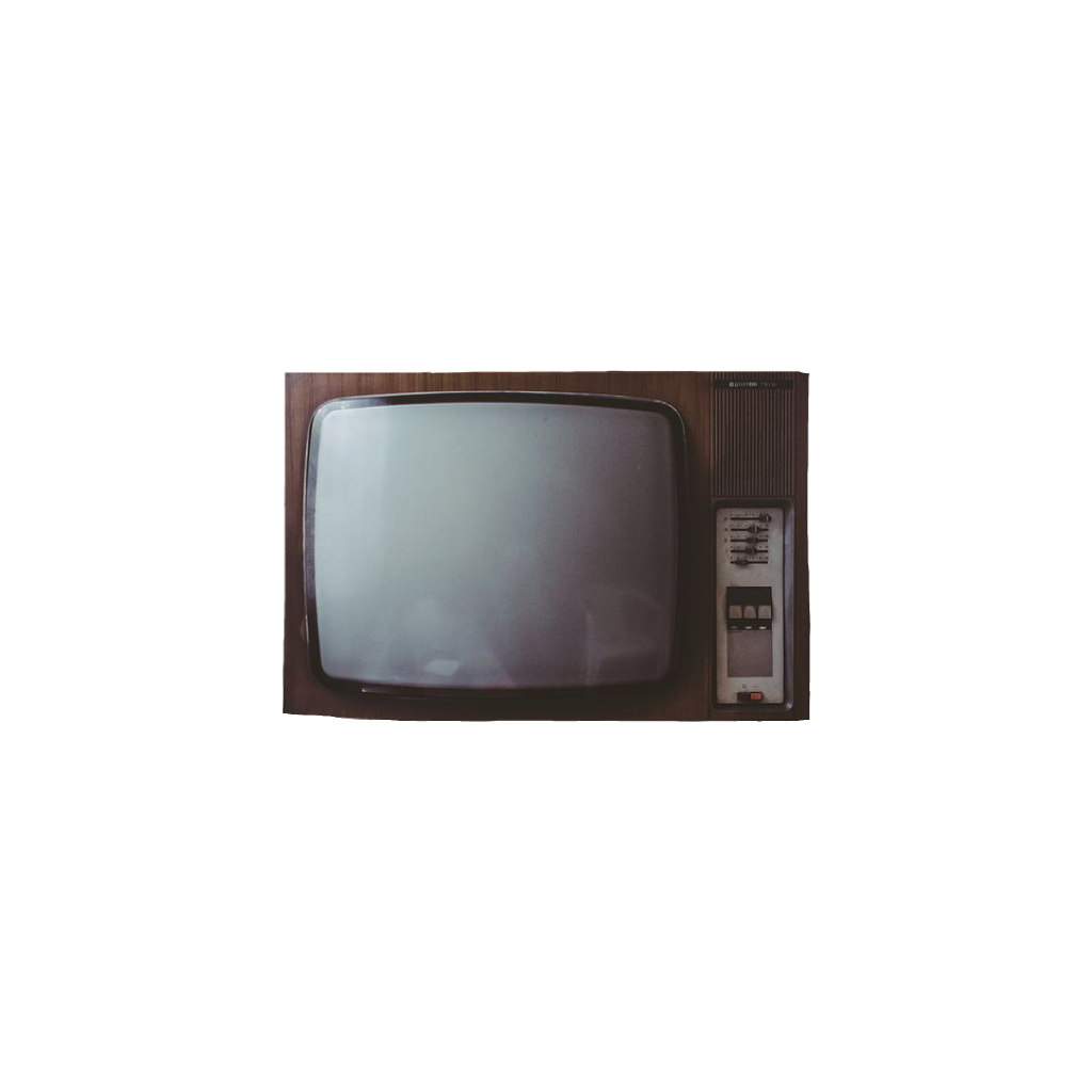 Ftestickers television vintage old. Clipart tv classic tv