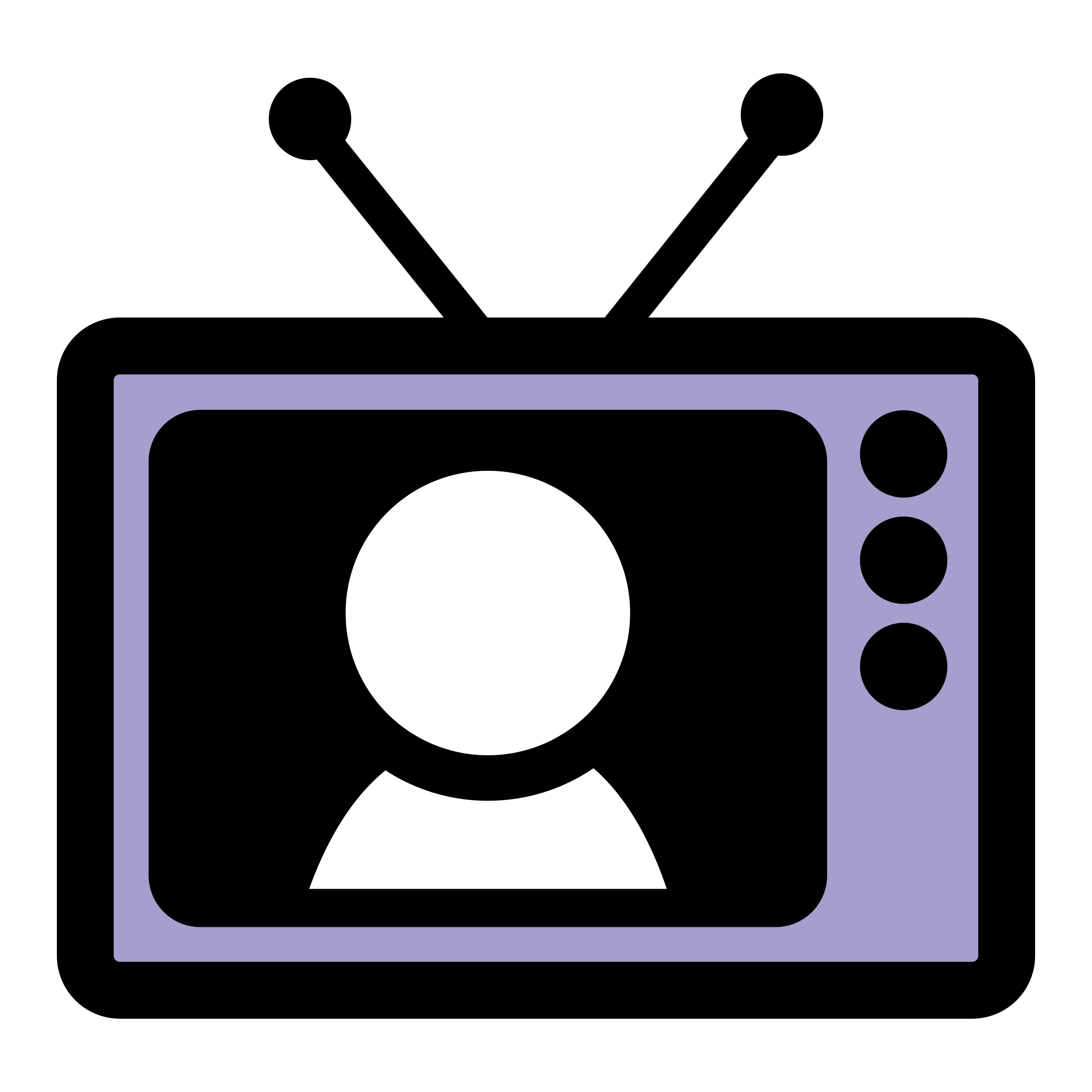 Television clipart square thing. Primary tv big image