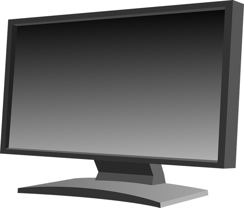Television clipart modern. Collection of pictures computer
