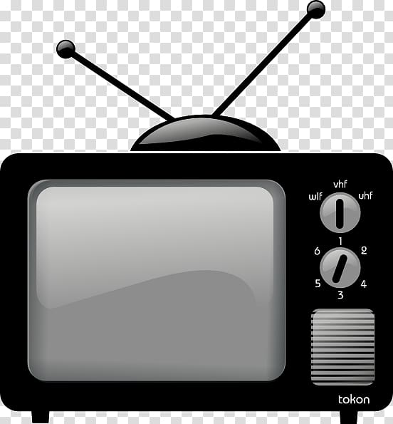 Television clipart round object. Vintage crt old tv