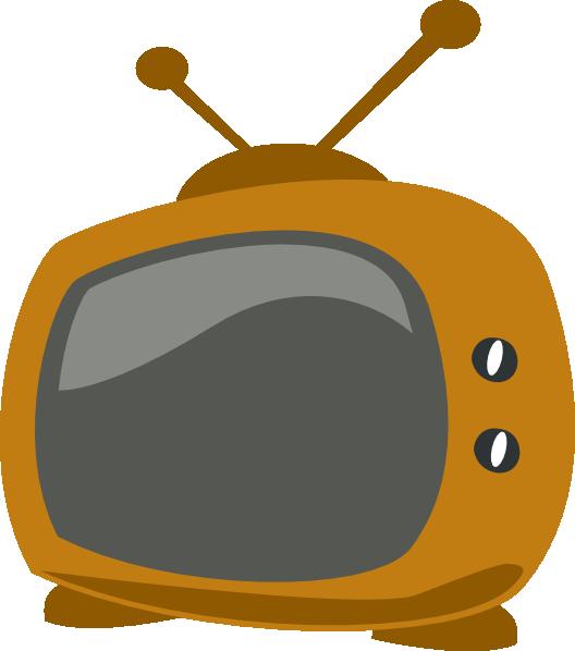 Tv cartoon drawing at. Television clipart printable