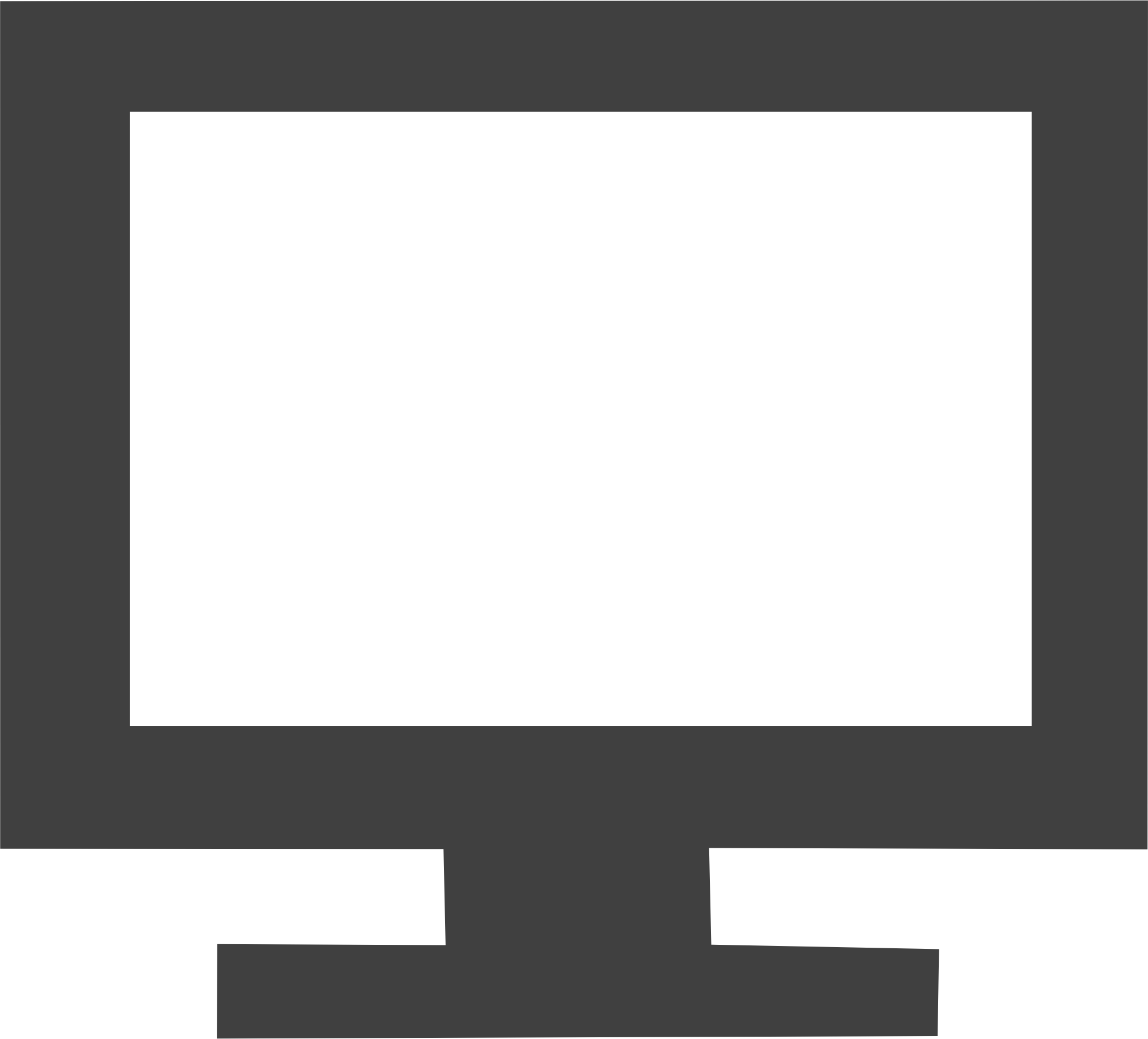 Square clipart television. Big image png