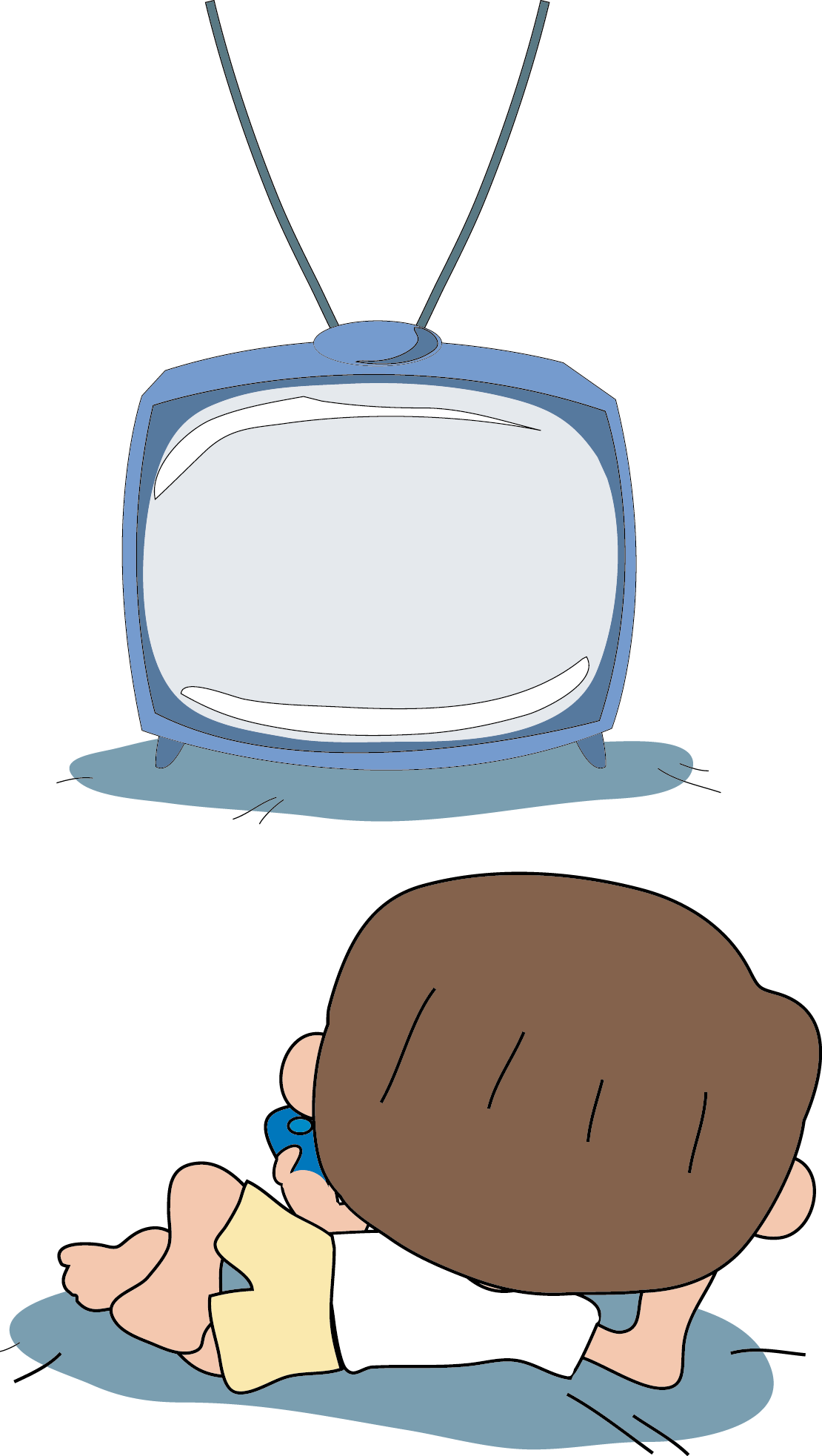 Watching drawing at getdrawings. News clipart tv remote