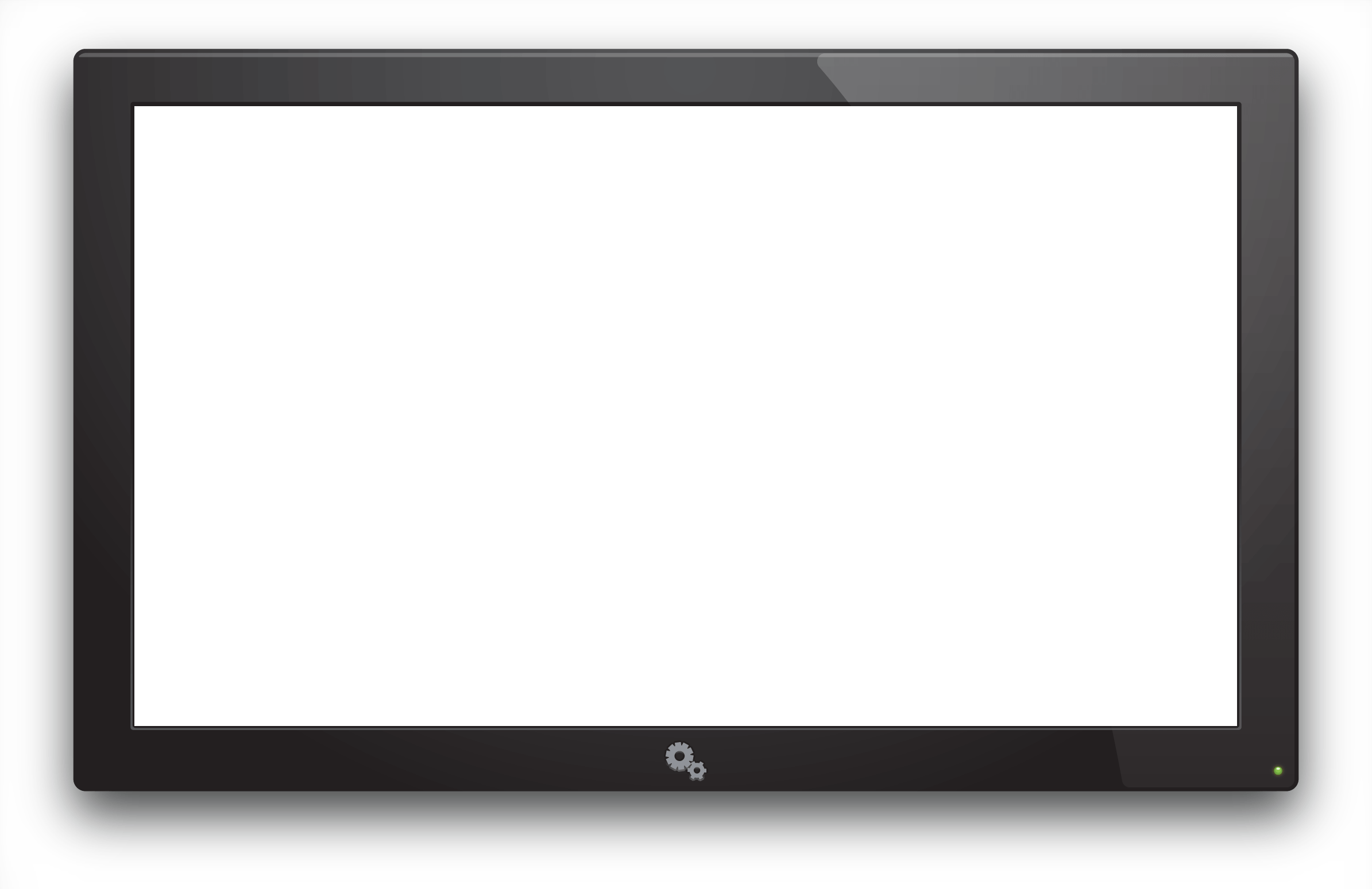 Electronics clipart black and white. Television png image purepng