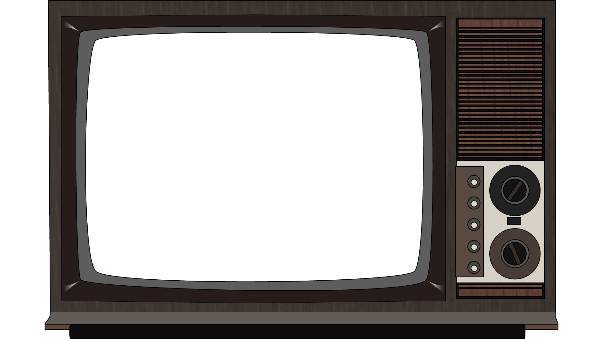 Clipart tv large. Old television png image