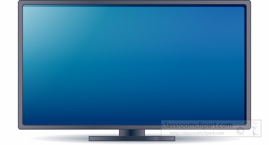 Clipart tv large. Screen lcd monitor portal