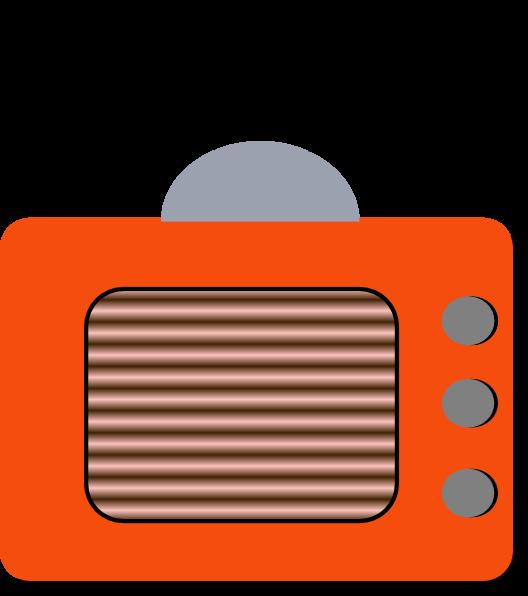 Color clip at clker. Clipart tv line art