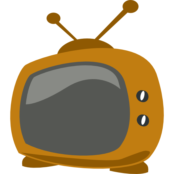Television addiction reasons to. Clipart tv living room