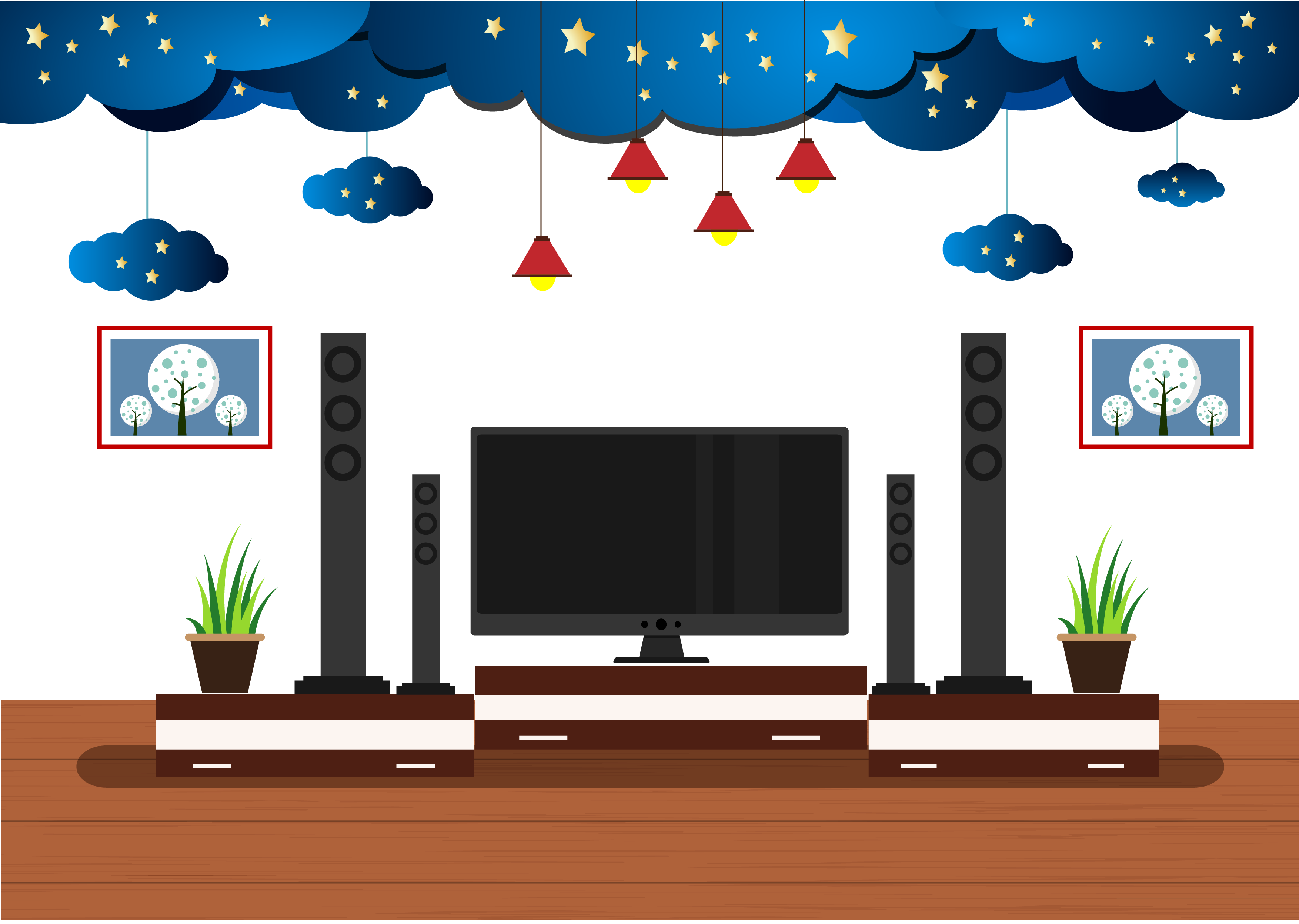 Free on dumielauxepices net. Clipart tv living room