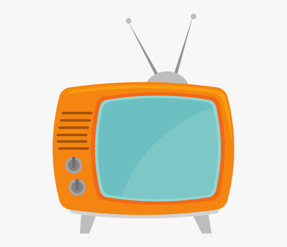 Advertising set . Television clipart media