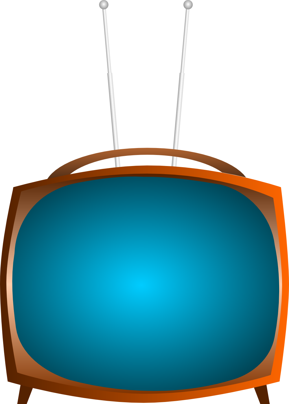 Clipart tv modern.  d wide black