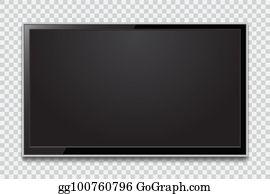 Lcd panel clip art. Clipart tv modern
