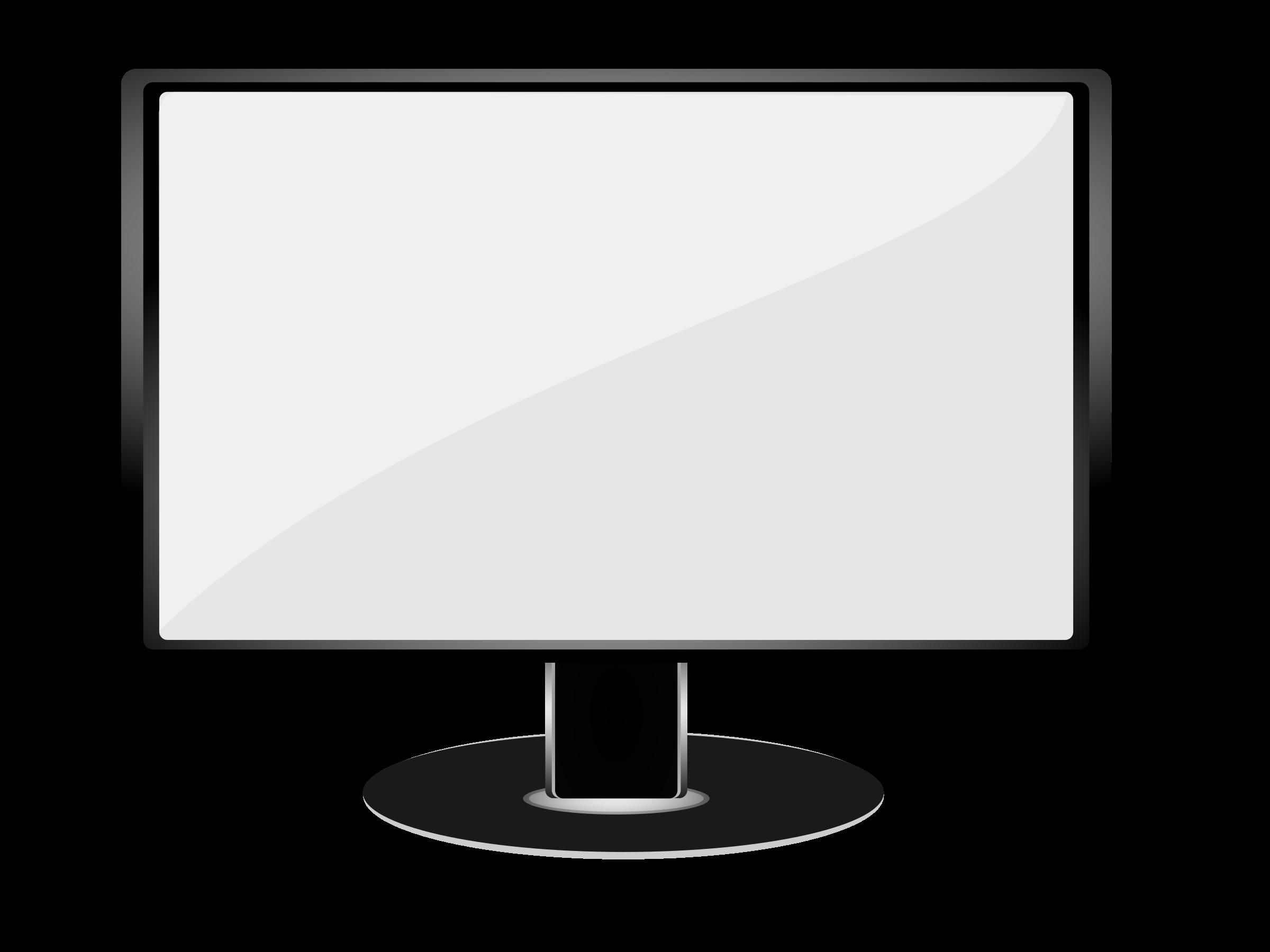 Clipart tv monitor. Big image png