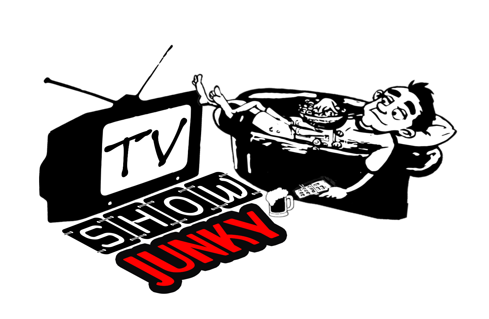Television clipart tv show. Junky a safe place