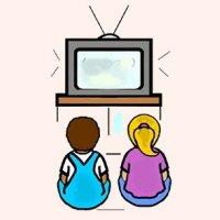 Clipart tv movie tv. Free cliparts download clip