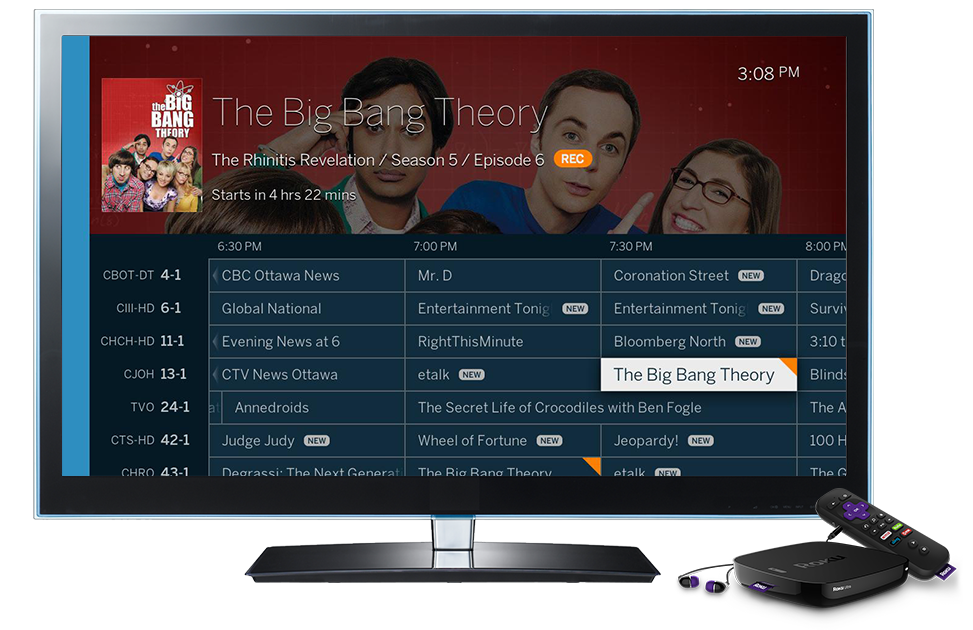 Discover live and dvr. Television clipart blue tv