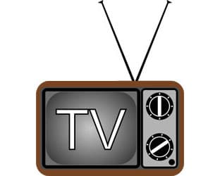 Clipart tv new one. Television news cbs meredith