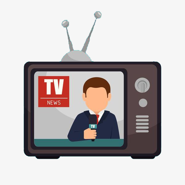 News clipart television news. Tv station
