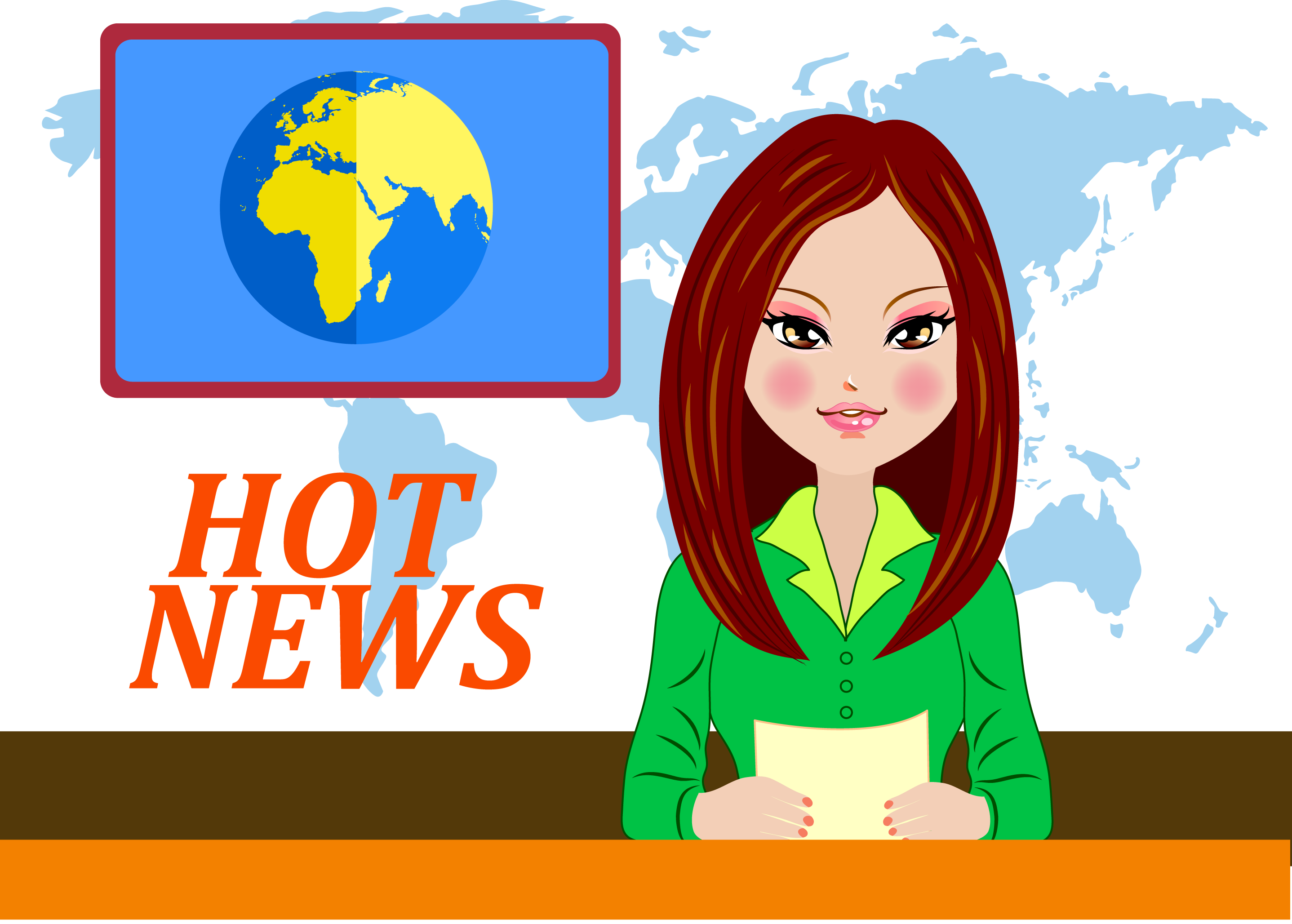 News clipart television news. Cartoon graphic design icon